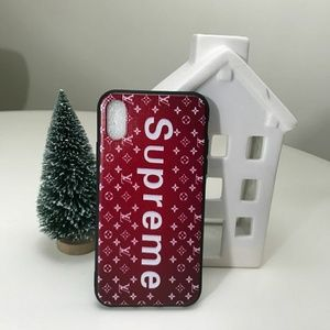 Supreme Iphone X cases